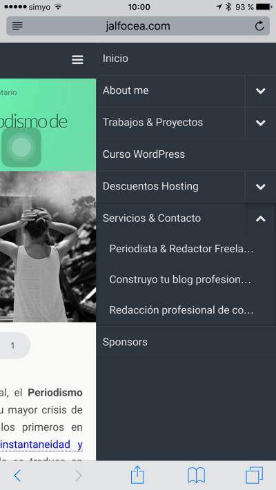 WP Touch responsive  3