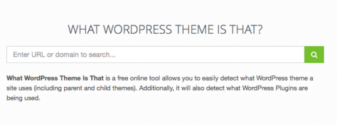 What WordPress Theme is that? | ¿Qué tema WordPres es ese?