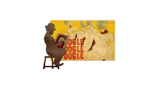 Toulouse Lautrec homenajeado con un doodle de Google