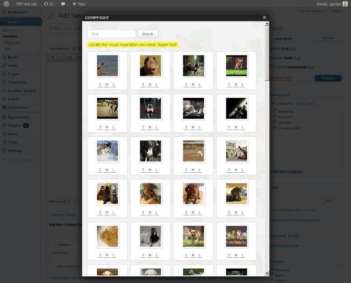 Compfight plugin para imagenes libres | IMAGEN: Compfight