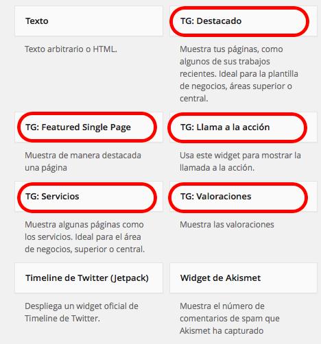 Widget WordPress 03