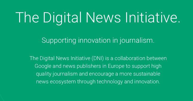 Google premia a proyectos periodísticos innovadores