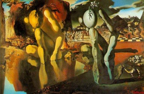 La Metamorfosis de Narciso Salvador Dalí
