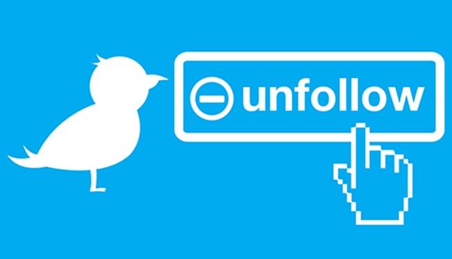 Los 11 motivos por los que nos dejan de seguir en Twitter