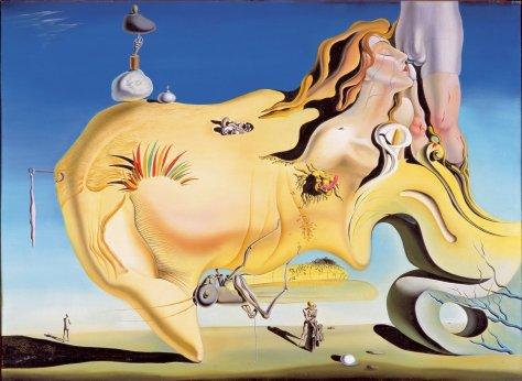 El gran masturbador (1929) Salvador Dalí