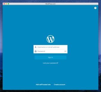 WordPress lanza su app nativa para OS X