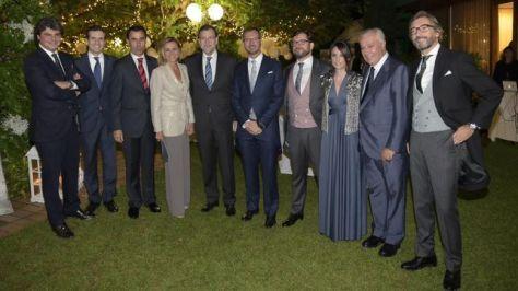 Parte de los invitados del PP a la boda de Javier Maroto. / Partido Popular
