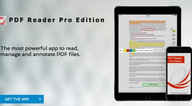 Consigue PDF Reader Pro Edition para iPhone y iPad al 90% de descuento