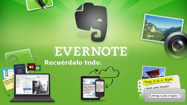 Herramientas 2.0 para la educación y el día a día (IV): Evernote