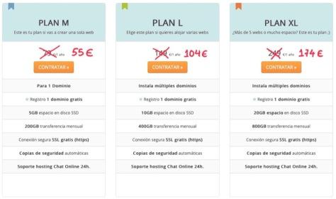 Contratar hosting web barato