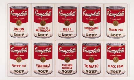 Las 10 obras más famosas del Pop Art de Andy Warhol