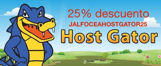Hostgator descuento cupon alojamiento hosting