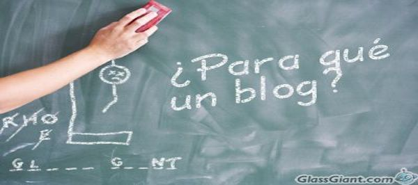 Mis razones para tener un blog