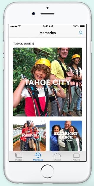 Fotos iOS 10