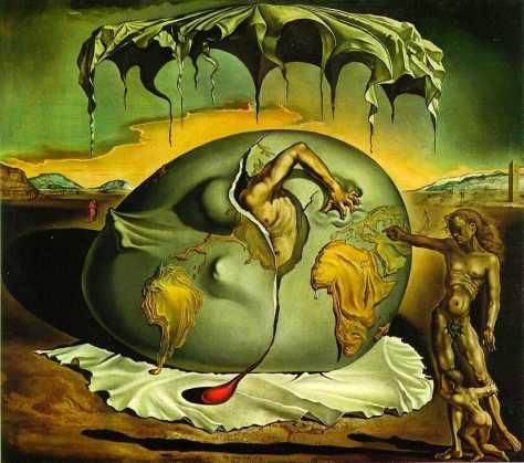 Niño Geopolítico Observando El Nacimiento del Hombre Nuevo Salvador Dalí
