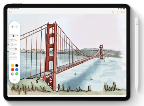 iPadOS y Apple Pencil
