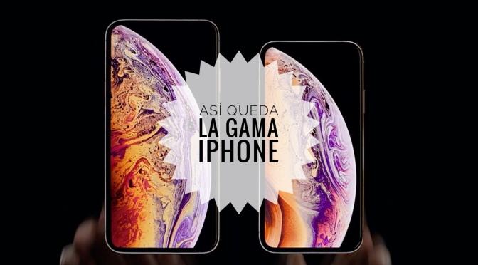 Nuevos iPhone XS, iPhone XS Max y iPhone XR | Comparativa con el resto de modelos