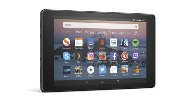 Fire HD 8, nueva tablet de Amazon, y más barata, en plena vuelta al cole