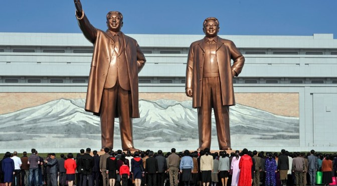 Dictadores y dictaduras en el mundo actual (III): Corea del Norte