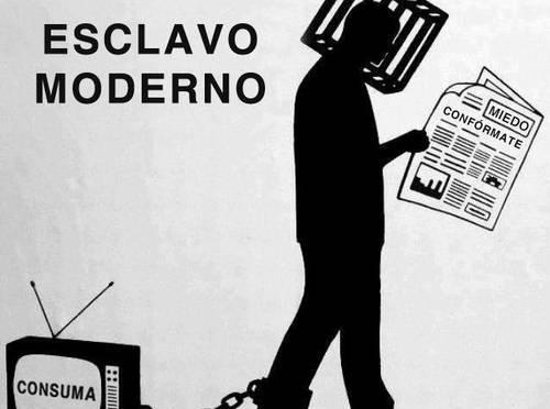 """LA SOCIEDAD """"ABORREGADA"""" Ó LA """"NEOESCLAVITUD""""."""